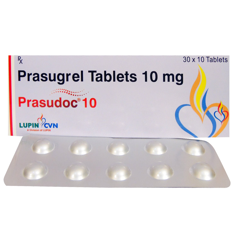 Prasudoc 10 Tablet 10's