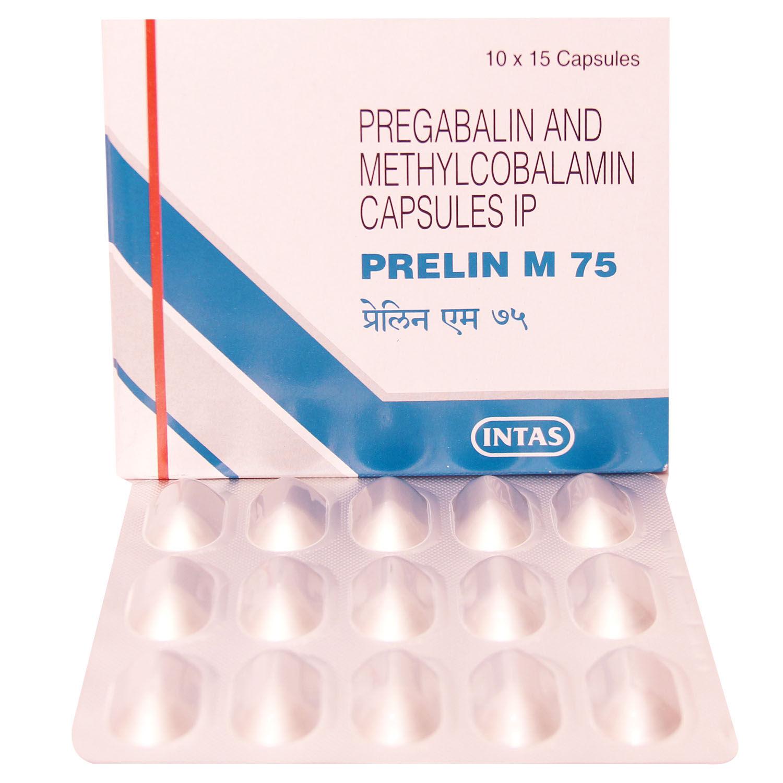 PRELIN M 75MG CAPSULE
