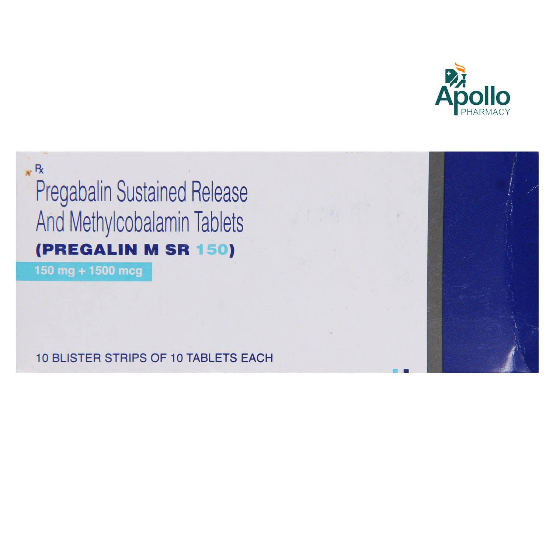 Pregalin M SR 150 Tablet 10's