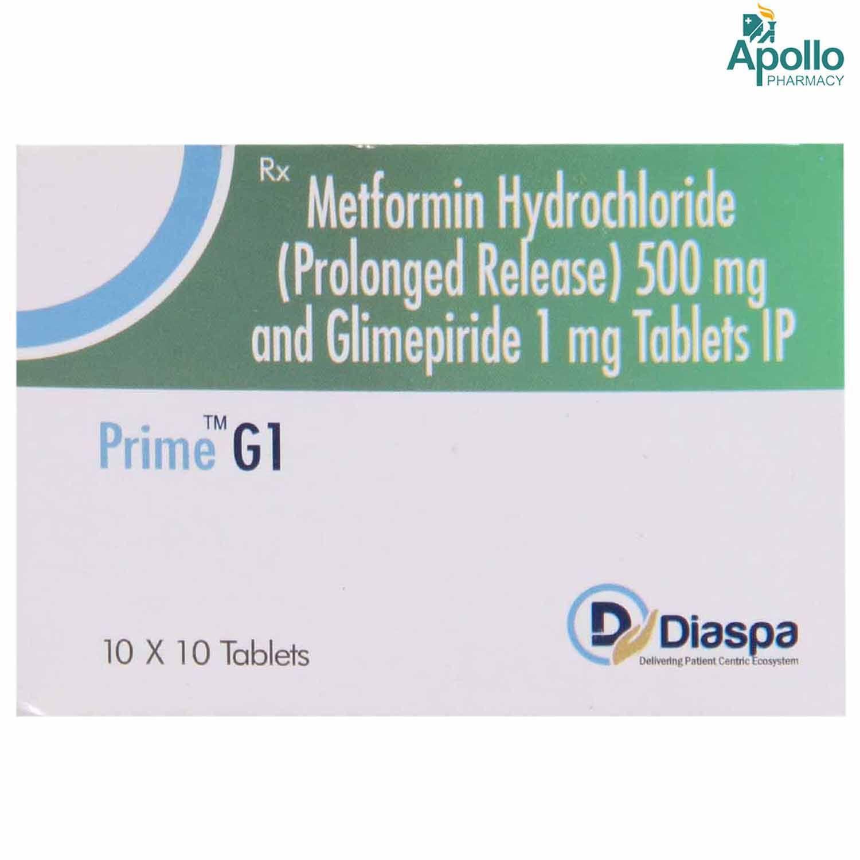 Prime G1 Tablet 10's