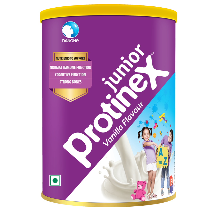 Protinex Junior Vanilla Flavoured Powder, 400 gm Tin