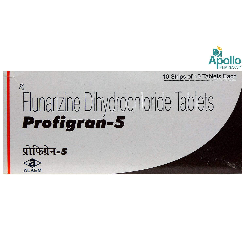 Profigran-5 Tablet 10's