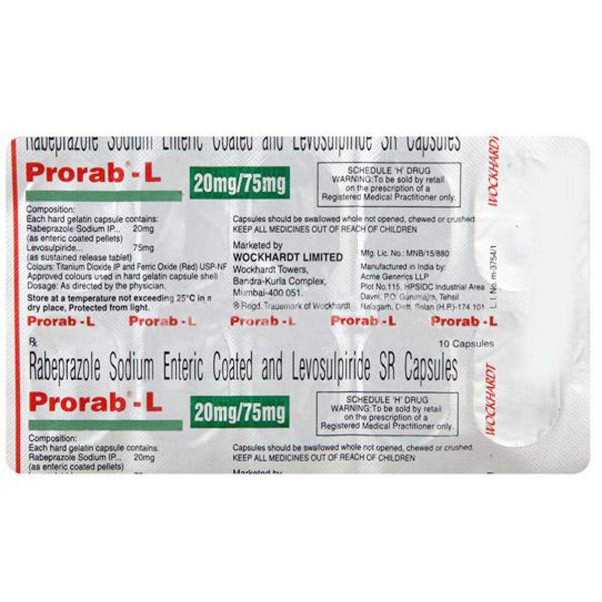 Prorab-L Capsule 10's