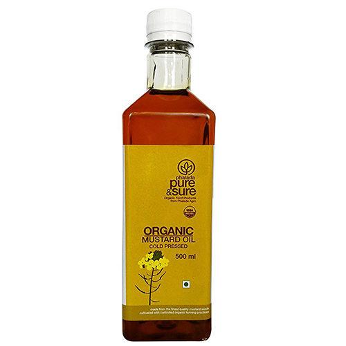 Pure & Sure Organic Mustard Oil, 500 ml