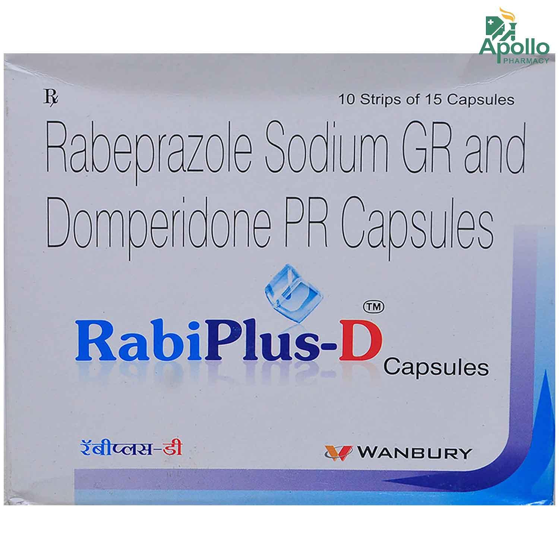 Rabi Plus D Capsule 10's
