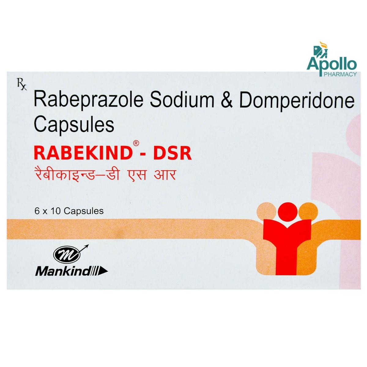 Rabekind-DSR Capsule 10's