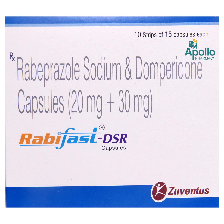 Rabifast-DSR Capsule 15's