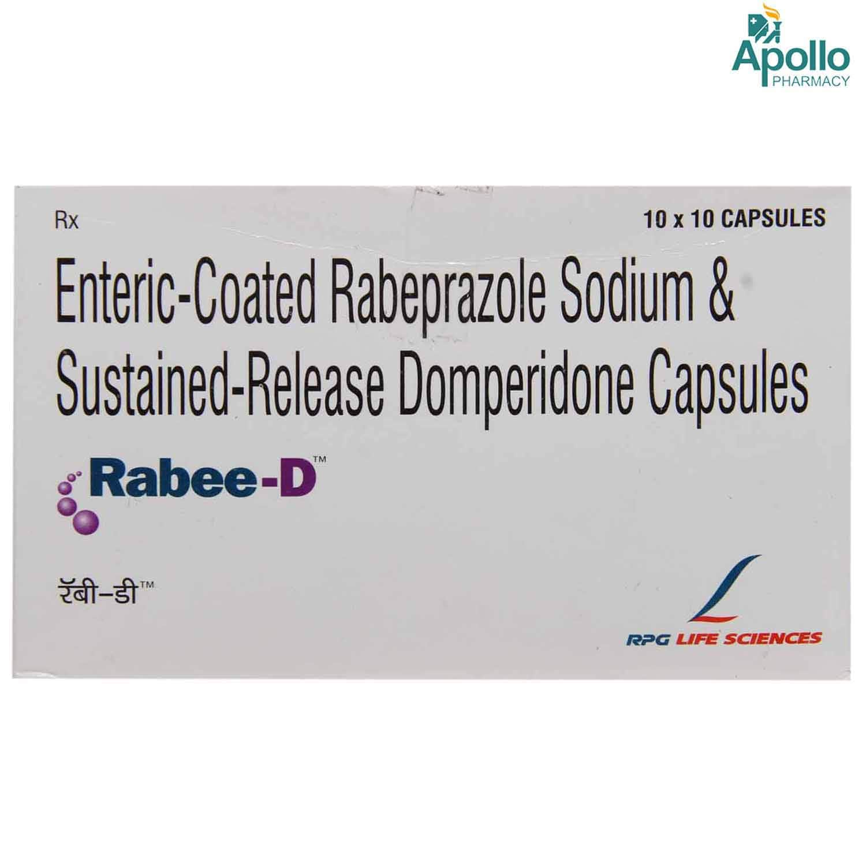 Rabee-D Capsule 10's