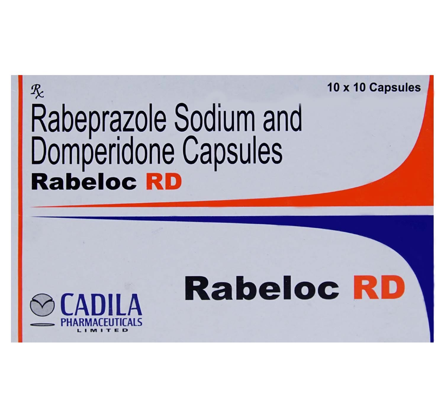Rabeloc RD Capsule 10's