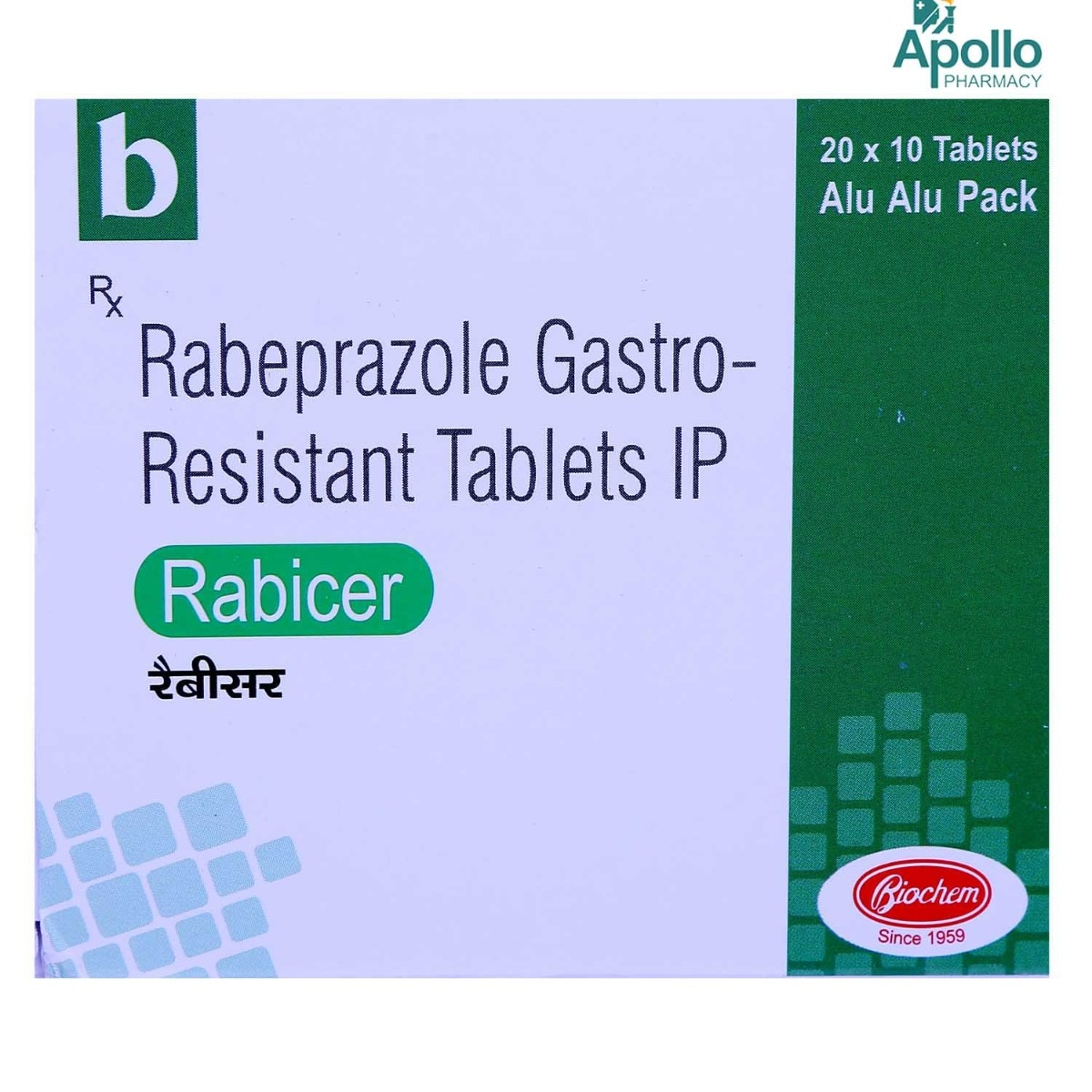 Rabicer Tablet 10's