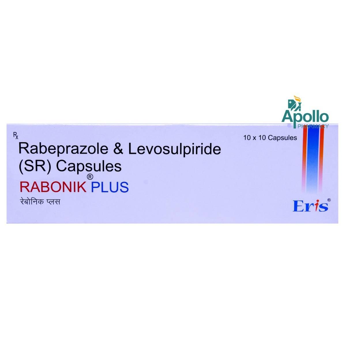 Rabonik Plus Capsule 10's