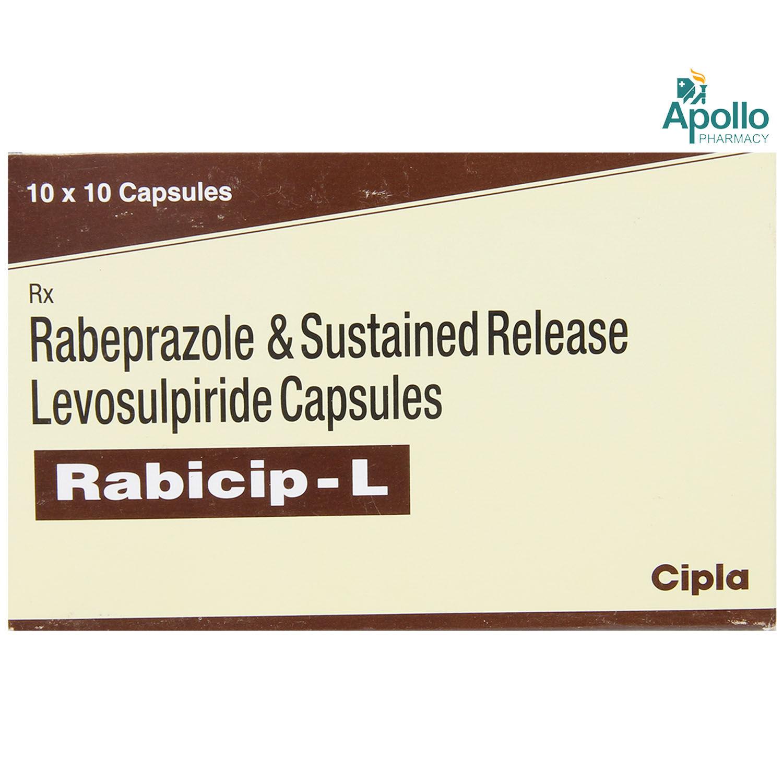 Rabicip L Capsule 10's