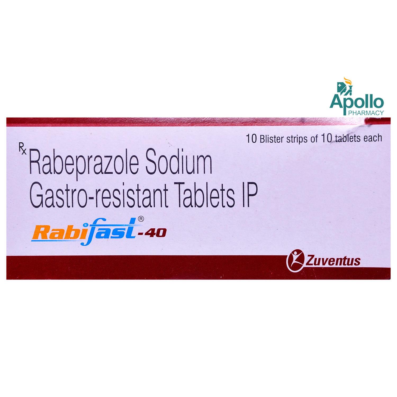 Rabifast 40 Tablet 10's