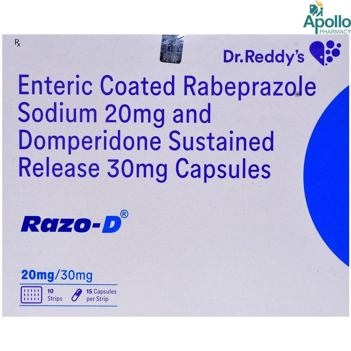 Razo-D Capsule 15's