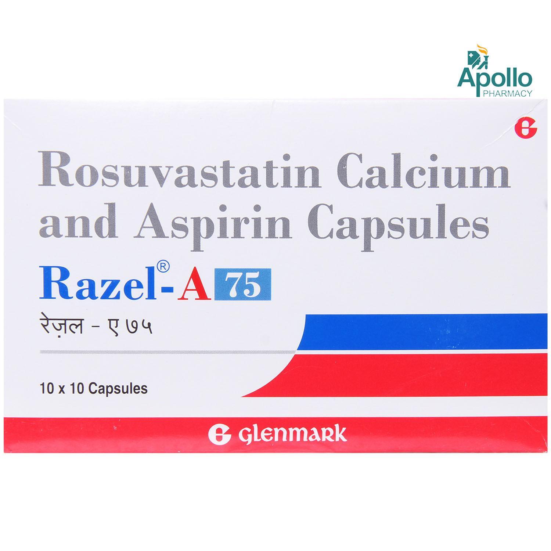 RAZEL A 75 CAPSULE 10'S