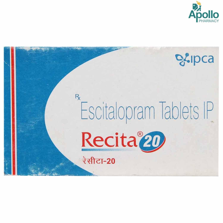 Recita 20 Tablet 10's