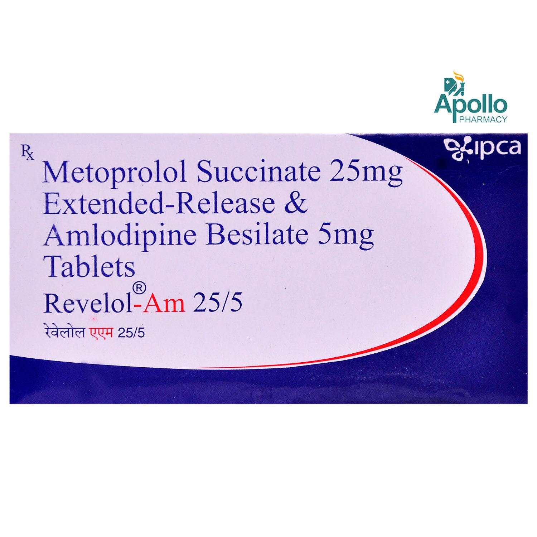 Revelol AM 25/5 Tablet 10's