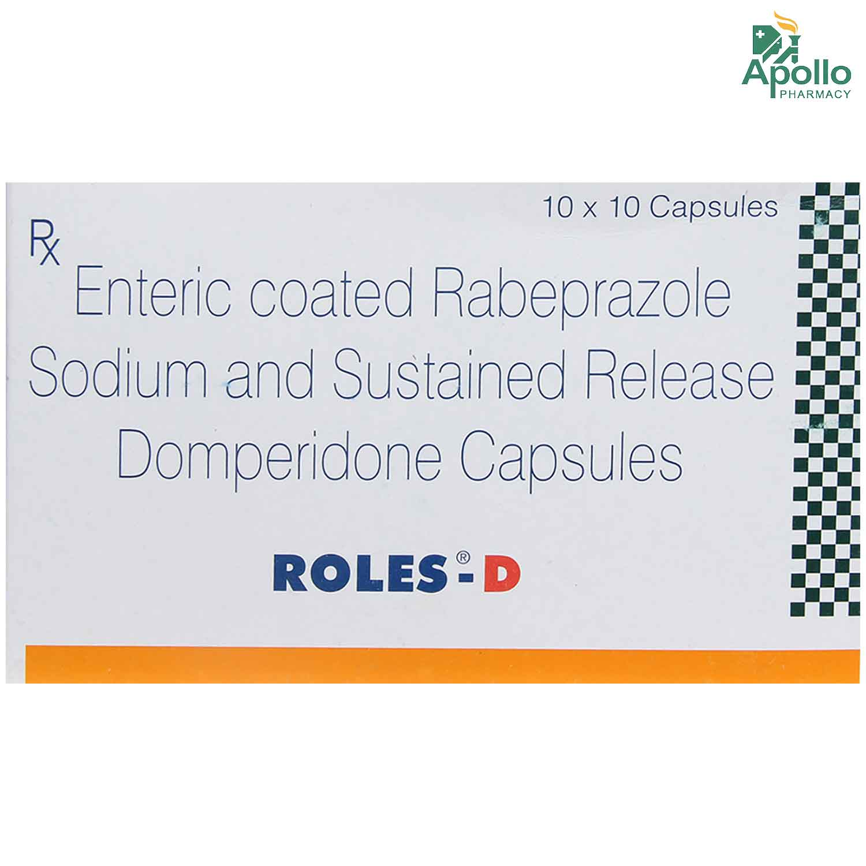 Roles-D Capsule 10's