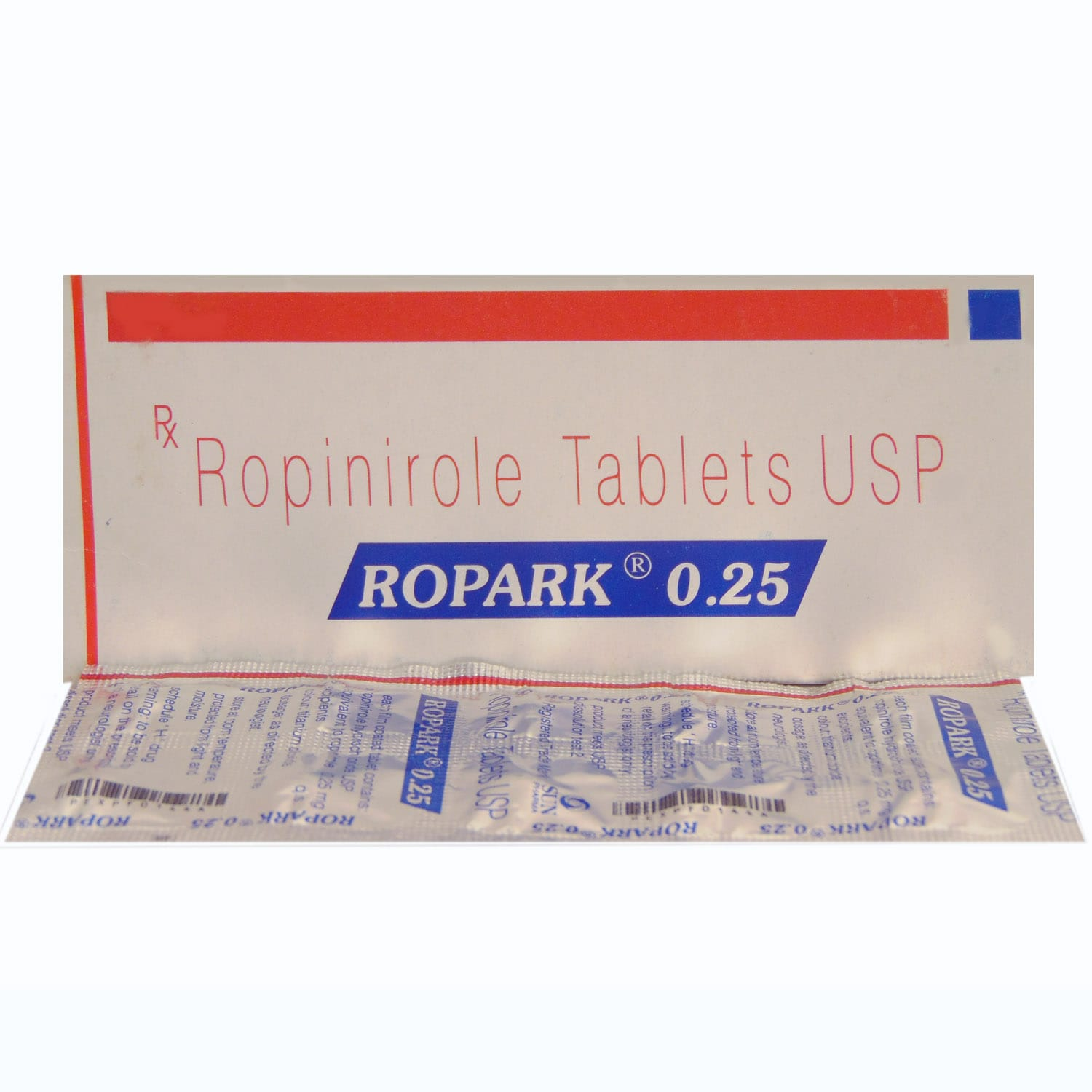 Ropark 0.25mg Tablet 10's