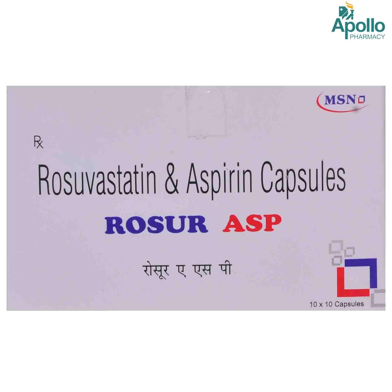 ROSUR ASP CAPSULE 10'S