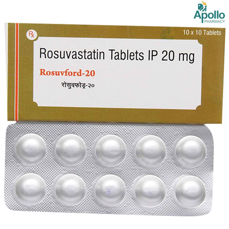 Rosuvford 20 Tablet 10's