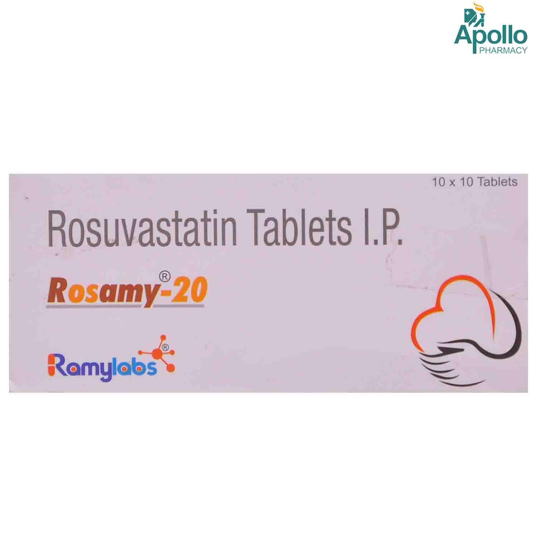 Rosamy-20mg Tablet 10's