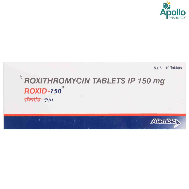 Roxid-150 Tablet 10's
