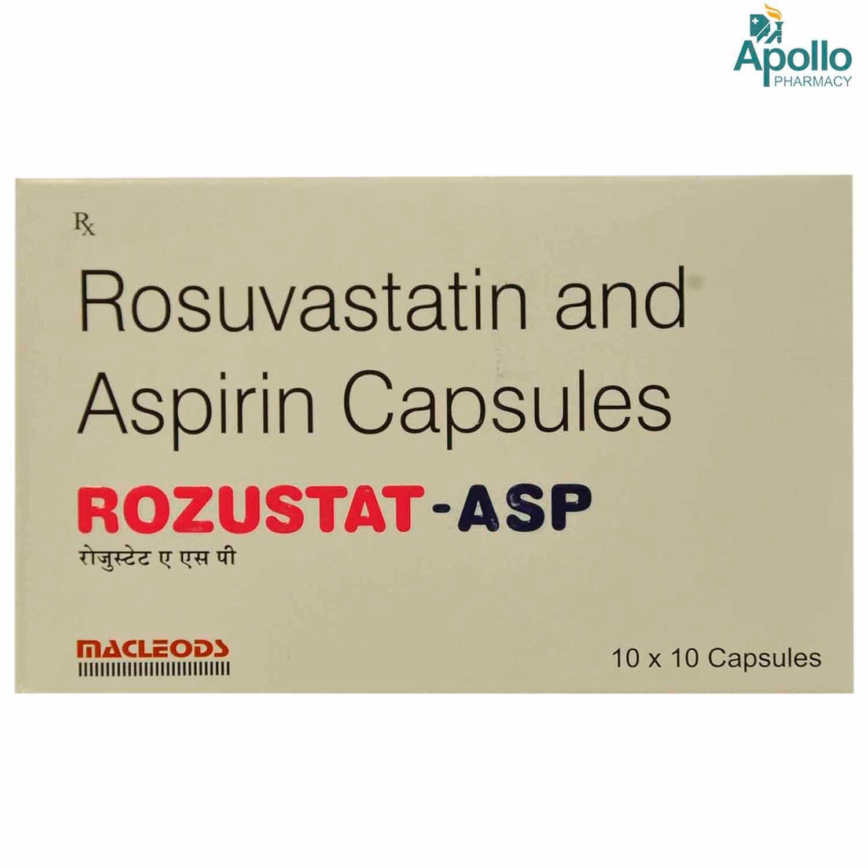 Rozustat ASP Capsule 10's
