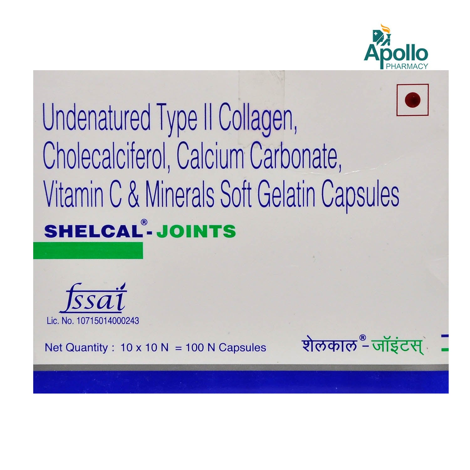 Shelcal-Joints Capsule 10's
