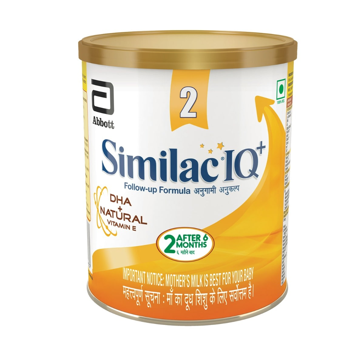 Similac IQ+ Follow-Up Formula Stage 2, After 6 M+, 400 gm Tin