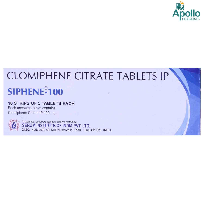 Siphene 100 Tablet 5's