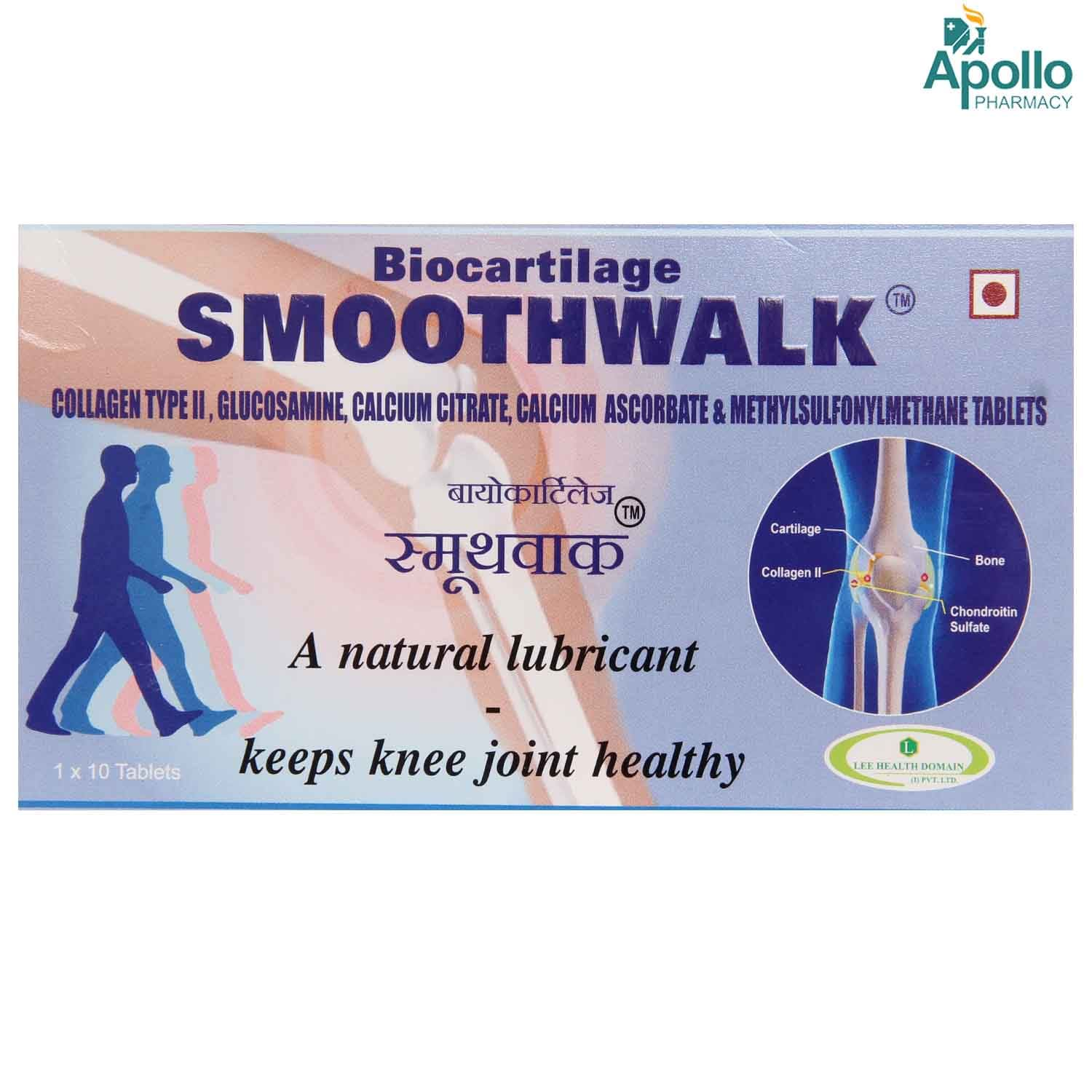 Smooth Walk Tablet 10's