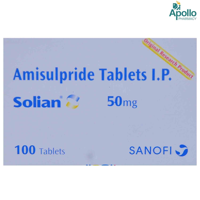 Solian 50 Tablet 10's