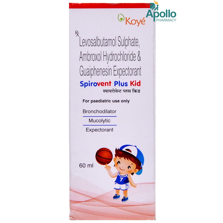 Spirovent Plus Kid Syrup 60ml