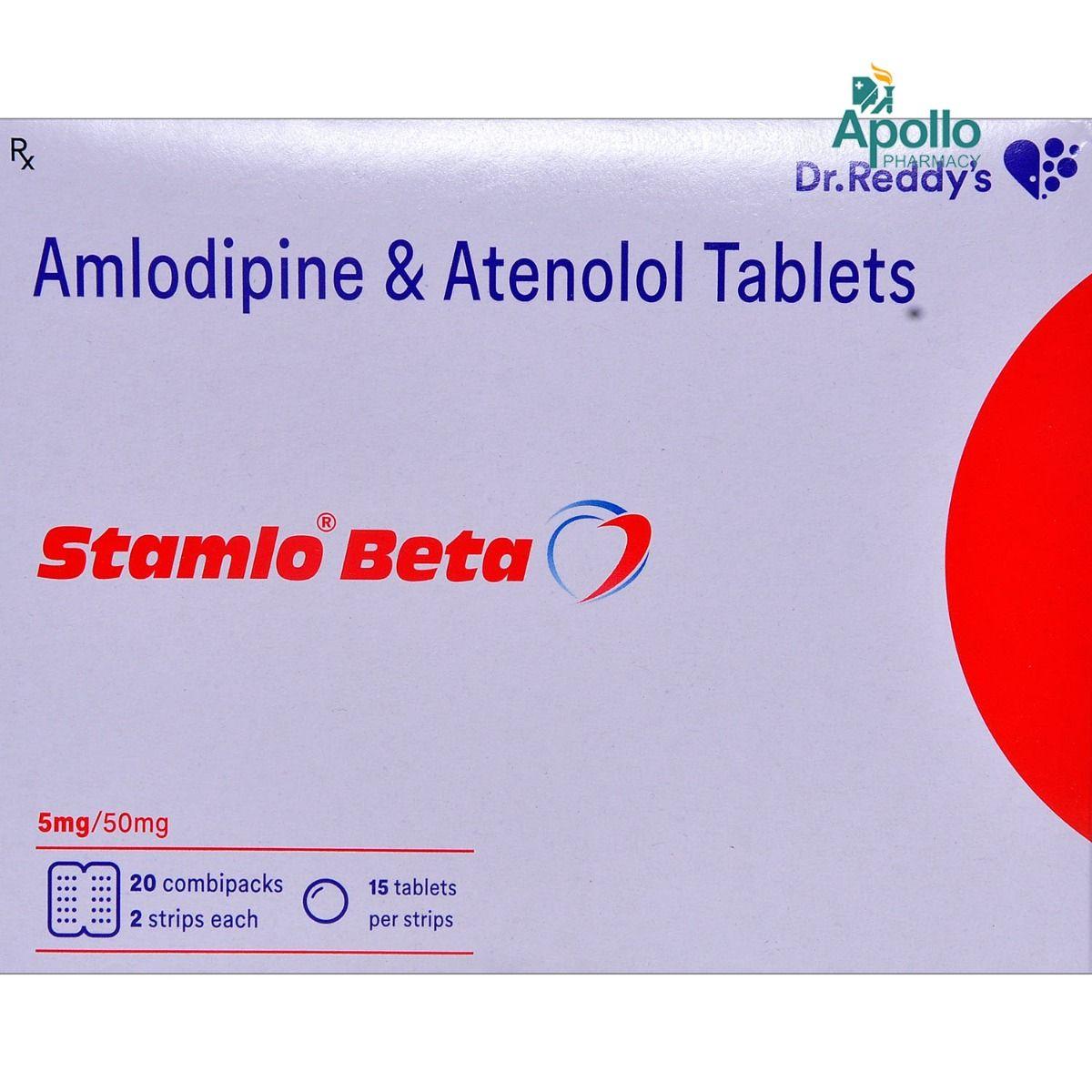 Stamlo Beta Tablet 15's