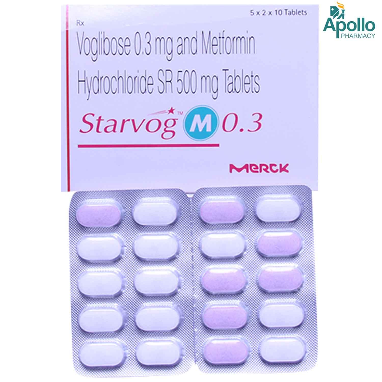 Starvog M 0.3 Tablet 10's