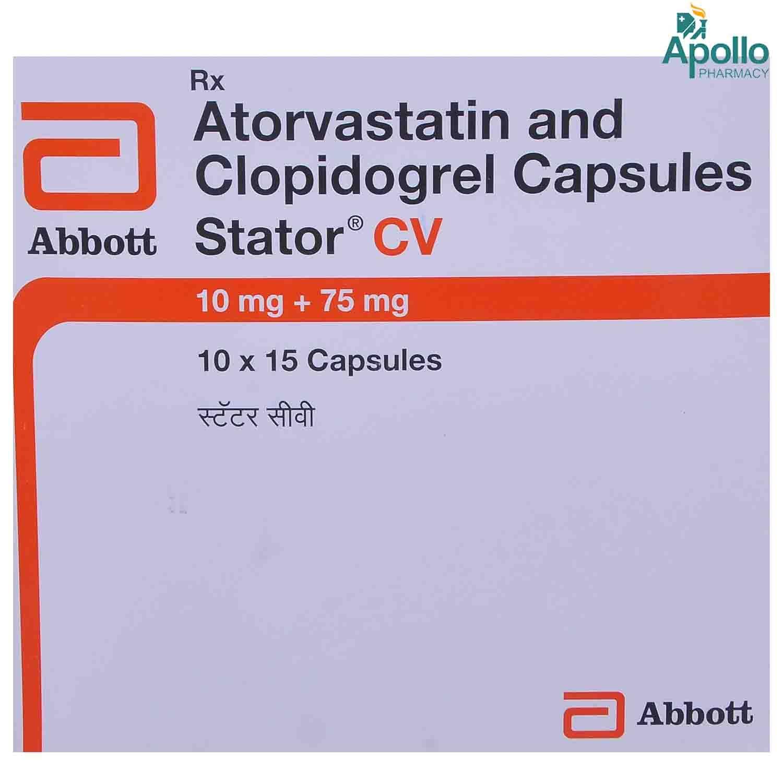 Stator CV 10 mg/75 mg Capsule 15's