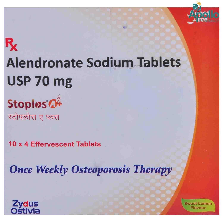 Stoplos A Plus Sugar free 70mg Sweet Lemon Flav Tablet 4s