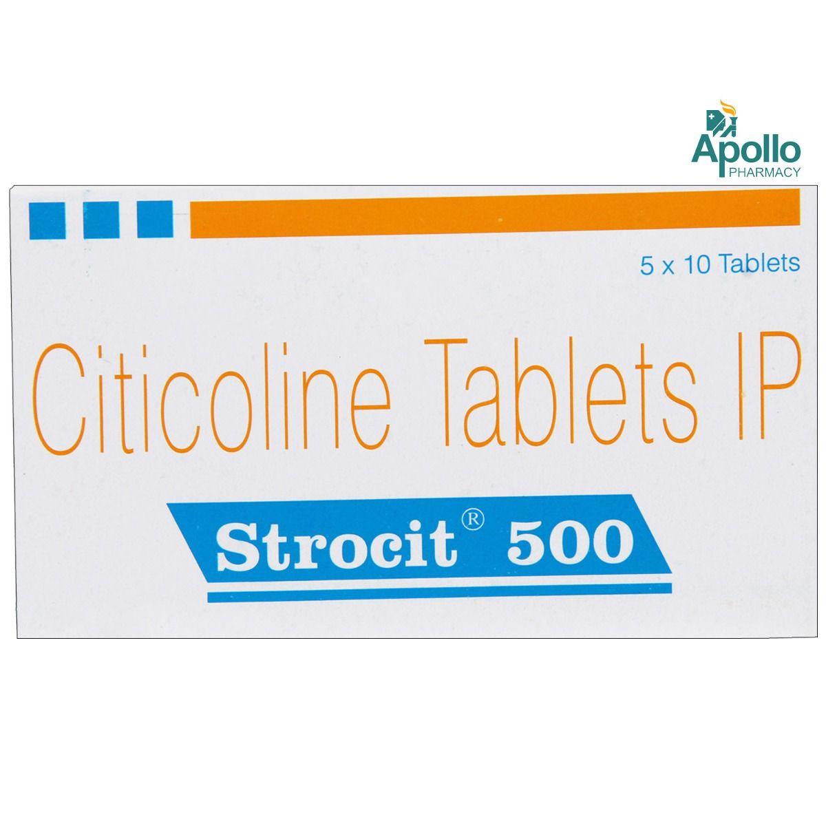 Strocit 500 Tablet 10's