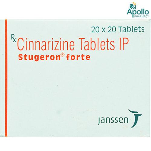 Stugeron Forte Tablet 20's