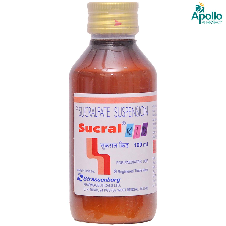 Sucral Kid Suspension 100 ml