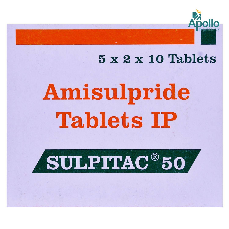Sulpitac 50 Tablet 10's