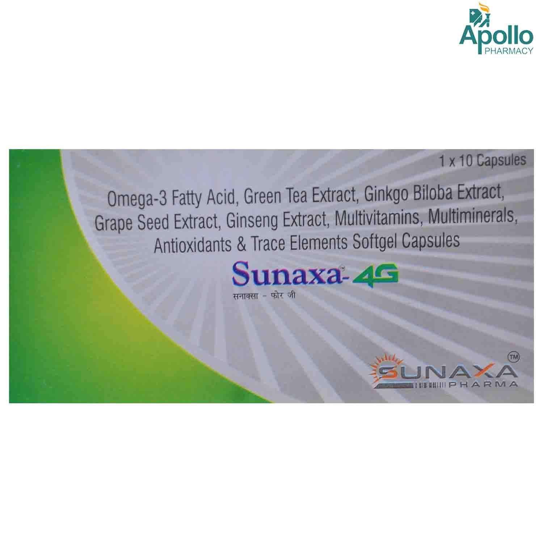 SUNAXA 4G SOFTGEL CAPSULE 10'S