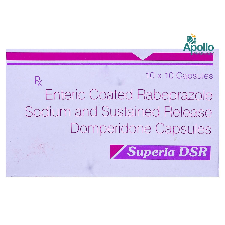 Superia DSR Capsule 10's