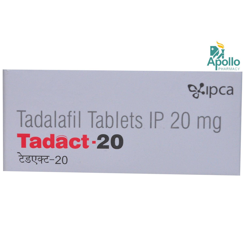 Tadact-20 Tablet 10's