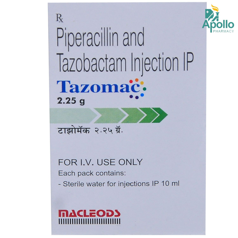 TAZOMAC INJECTION 2.25GM