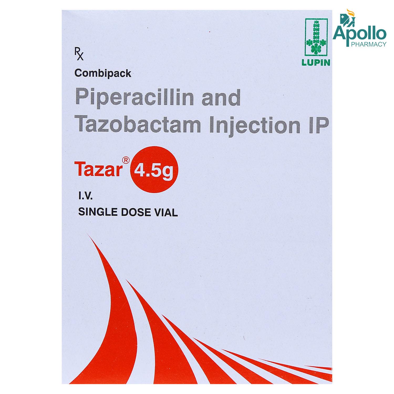 TAZAR VIAL INJECTION 4.5GM
