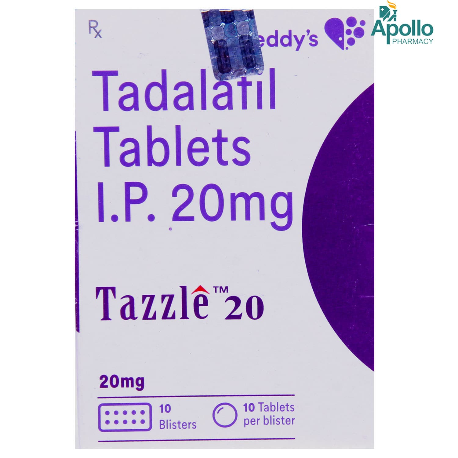 Tazzle 20 Tablet 10's