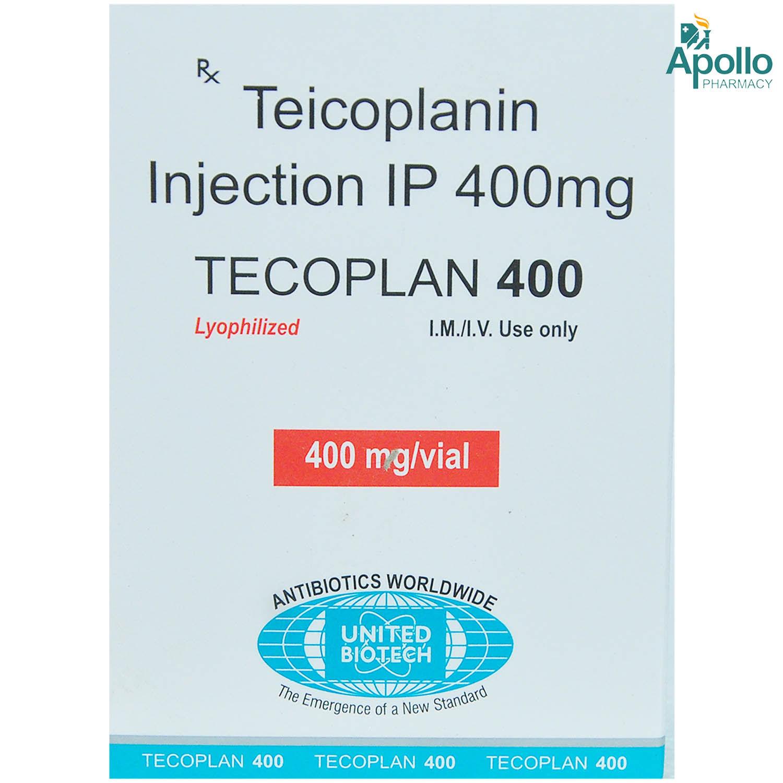 TECOPLAN 400MG INJECTION