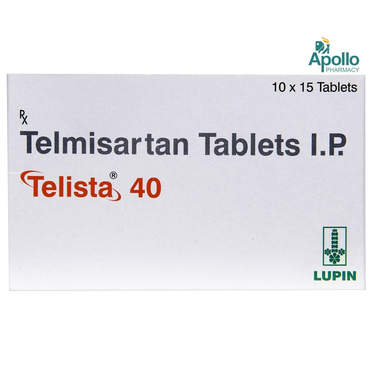 Telista 40 Tablet 15's